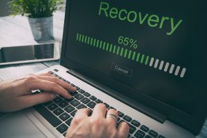 data recovery concept